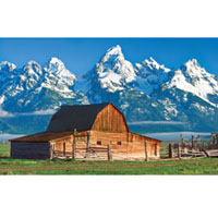1000 pc Panoramic - Grand Tetons