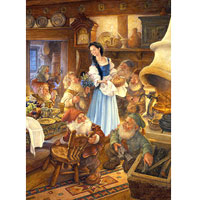 1000 pc Fairy Tales - Snow White