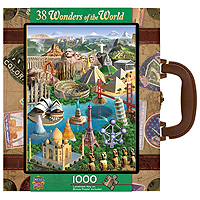 Wonders of the World Suitcase Puzzle - 1000 pc