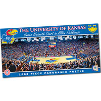 College Panoramic Stadium Puzzle - University of Kansas