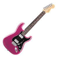 Puzzle Shapes - Pink Fender Guitar - 300 pc