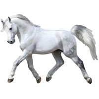Puzzle Shapes - White Horse - 300 pc