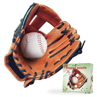Puzzle Shapes - Baseball Glove - 500 pc