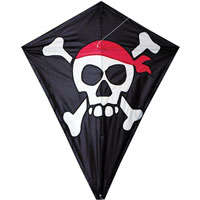 25 inch Diamond Kite - Skull & Crossbones