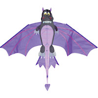 Flying Black Dragon Kite