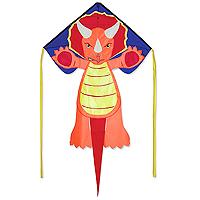 Regular Easy Flyer Kite - Triceratops