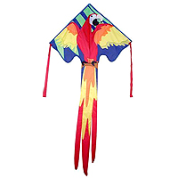 Large Easy Flyer Kite - Macaw