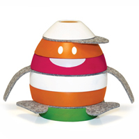 P'Kolino Plump Stacking Toy - 6 Ring
