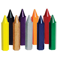 Hexagon Crayons - 9 Pack
