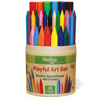 Playful Art Set - 40 Pc