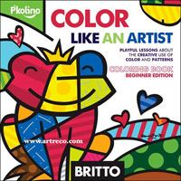 Britto Color Like an Artist - Coloring Book