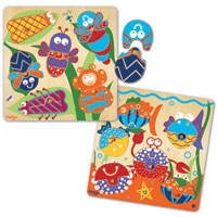 Mix & Match 12 Piece Puzzle