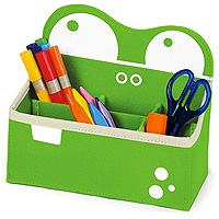 P'kolino Mess Eaters Desk Caddy - Green