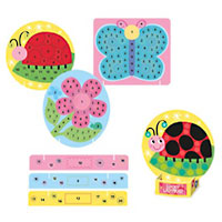 Glitter Garden Mosaic Sticker Kit