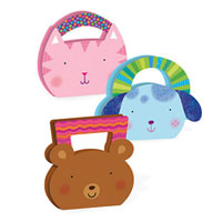 Sparkly Critter Purses Sticker Kit