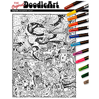 The Original DoodleArt Fairy Tales