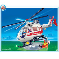 Playmobil Medical Helicopter