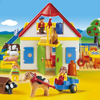 Playmobil 1,2,3 Large Farm