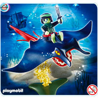 Playmobil Ghost Pirates - Stingray Bareback Rider