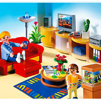 Playmobil Suburban Life - Living Room