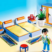 Playmobil Suburban Life - Master Bedroom