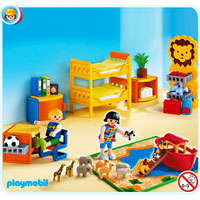 Playmobil Suburban Life - Children's Room