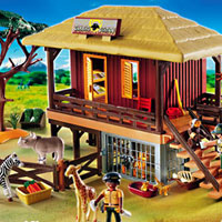 Playmobil Africa - Wildlife Care Station