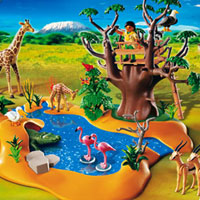 Playmobil Africa - Wildlife Waterhole