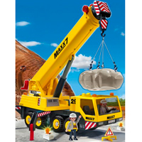 Playmobil Construction - Heavy Duty Mobile Crane