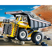 Playmobil Construction - Heavy Duty Dump Truck