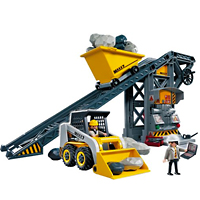 Playmobil Construction - Conveyor Belt with Mini Excavator
