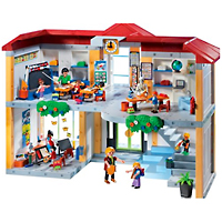 Playmobil School - Furnished School Building