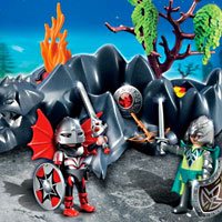 Playmobil Dragon Rock Compact Set