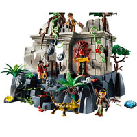 Playmobil Treasure Hunters - Treasure Temple with Guards