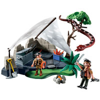 Playmobil Treasure Hunters Camp with Giant Snake