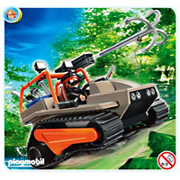 Playmobil Treasure Hunters - Treasure Robber's Crawler
