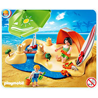 Playmobil Vacation - Beach Holiday Compact Set
