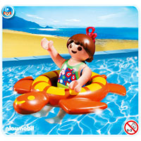 Playmobil Vacation - Girl with Swimming Ring