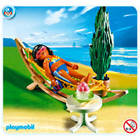Playmobil Vacation - Woman in Hammock