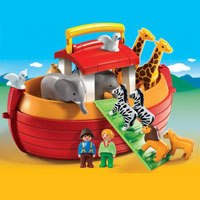 Playmobil My Take Along 1 2 3 Noahs Ark