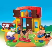 Playmobil Interactive Play and Learn 1 2 3 Farm