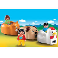 Playmobil 1 2 3 Animal Train