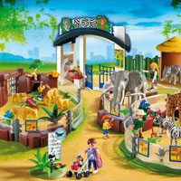Playmobil Zoo - Large Zoo with Entrance