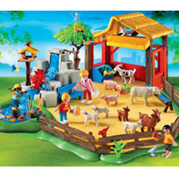 Playmobil Zoo - Children's Zoo