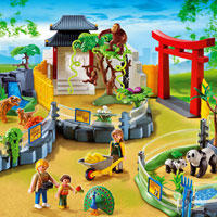 Playmobil Zoo - Asian Animal Enclosure