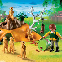 Playmobil Zoo - Meerkat Family