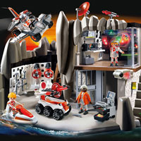 Playmobil Top Agents - Secret Agent Headquarters with Alarm System