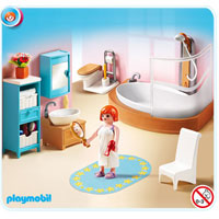 Playmobil Doll House - Grand Bathroom