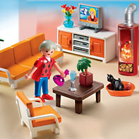 Playmobil Doll House - Comfortable Living Room