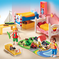 Playmobil Doll House - Boy and Girl Room